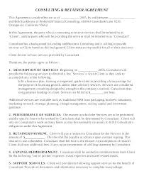 Consulting Contract Template Free Download Freelance Retainer Contract Template Free Consultant