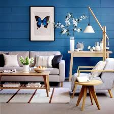 creative wall design in the living room ideas for colorful wallpapers