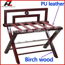folding luggage rack. Interesting Folding Antique Hotel Room High Back Leather Folding Suitcase Luggage Rack  Wooden  For Guestroom In N
