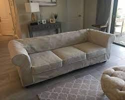 chesterfield sofa slipcover custom
