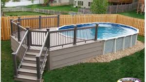 above ground pool decks. Prefab Pool Decks Stylish Above Ground With Regarding 17