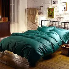 green duvet cover king blue turquoise cotton bedding sets bed sheets queen size quilt doona linen
