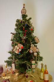 Chardon Christmas Tree Lighting My Mini Christmas Tree With Wine Themed Ornaments Got The