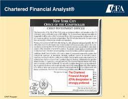 Cfa Designation Description Ppt Chartered Financial Analyst Powerpoint Presentation