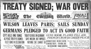 Image result for images signing treaty of versailles