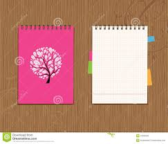notebook cover and page design royalty stock photos image notebook cover and page design