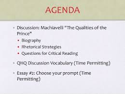 tips for writing the machiavelli the prince essay paperback 9780312149789 0312149786