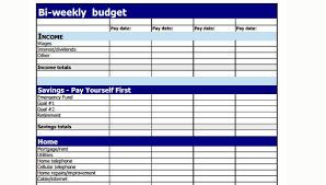 Weekly Budget Forms Sample Weekly Budget Forms 7 Free Documents In Word Pdf