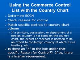 Complying With U S Export Controls Ppt Download