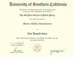 diploma usc diploma