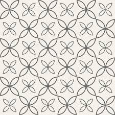 Quatrefoil Pattern Simple Abstract Seamless Ornamental Quatrefoil Pattern Vector Geometric