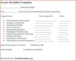 Meeting Planning Checklist Template – Tangledbeard
