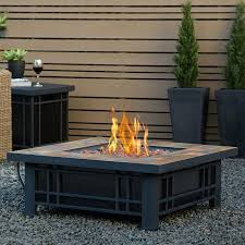 firepit table outdoor fire pit table cover