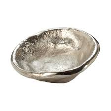 Gold Decorative Bowl Free Form Small Decorative Bowl In Gold Tn 891892 The Home Depot