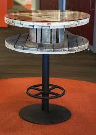 repurposed wire spool ideas wood spool tables