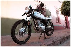 crq cycles honda cgl125 caf racer pipeburn com
