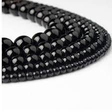 2019 <b>LanLi</b> 4/<b>6/8</b>/10/12mm Black Glass Beads <b>Fashion Natural</b> ...