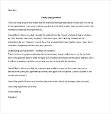 customer complaint letter sample example  sample customer complaint letter poor services