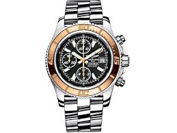 breitling superocean chronograph ll men s watch make a compelling argument for being the most dapper dressed man in the room the breitling timepiece as part of your ensemble