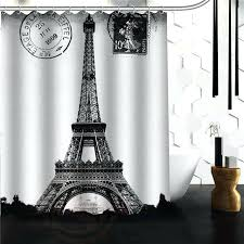 watercolor fl black and white shower curtain target custom tower city of love x