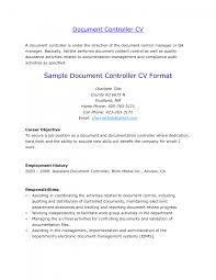... cover letter Financial Controller Resume Sample Ideas Document Control  Administrator Sampledocument control administrator resume Large size ...