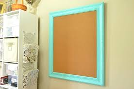 framed bulletin boards diy how to make a board up on wall in craft room framed bulletin boards