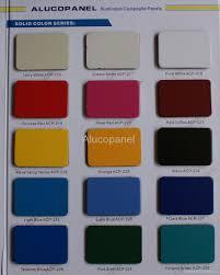Acp Colour Chart China Leading Supplier Of Aluminium Composite Panel