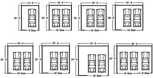 What Is The Standard Size Of A 2 Car Garage Affordable Full Size Size Of A 2 Car Garage