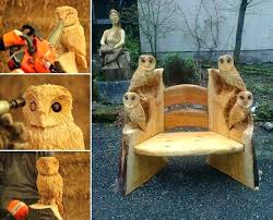 furniture made from tree stumps. Unique Furniture Made From Tree Stumps And Logs The Owner If You Liked These Will Also Like Other Ideas Diy Painted Blogs E