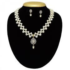 10 shiny on pearl necklace in american diamond and zircon pendant 1200x1200 jpg