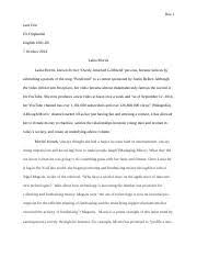 analysis and synthesis dalila jara ms wilbanks english  4 pages sample paper 2 girlfriend