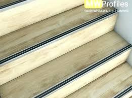 stair nose trim carpet edging strips edge luxury promotion aluminium nosing menards w oak