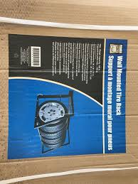 description brand new wall mounted tire rack