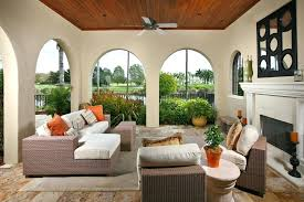 Florida Room Ideas Ingenious Inspiration Furniture Patio With  Arched Doorways Small   U10