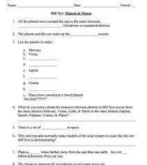Worksheets For Bill Nye Also Worksheet with Worksheets For Bill Nye