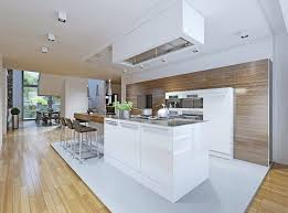 One Wall Kitchen Designs With An Island Interior Cool Design