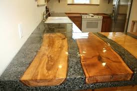 diy concrete countertops poured in place concrete with inlaid wood logs diy concrete countertops poured in