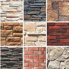 good quality dry stack faux stone panels wall whole fur artificial brick interior