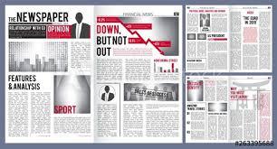 1800 Newspaper Template Newspaper Template Print Design Layout Of Newspaper Cover