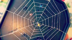 How To Make A Giant Spider Web Giant Spider Web Clares Little Tots