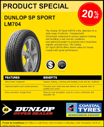 Coastal Tyres - The <b>Dunlop SP Sport LM704</b> is the ideal... | Facebook