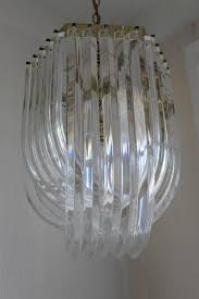 lucite ribbon chandelier wonderful lucite ribbon chandelier pics