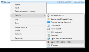Open .URL files (Internet Shortcut) with any Browser via Right-click ...