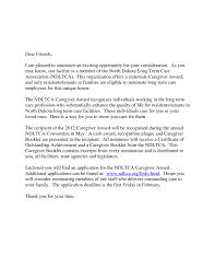 Caregiver Cover Letter Elderly Job And Resume Template