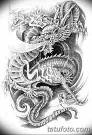 тату дракон эскизы для девушек 08032019 040 Tattoo Sketches