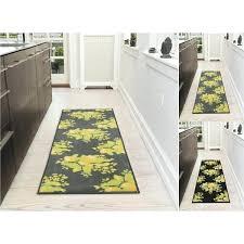 20 runner rug lemon collection fl design runner rug with non slip x bath rug runner