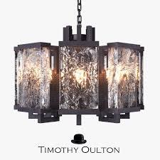 chandelier timothy oulton ice 3d model