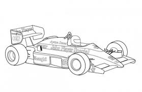 Free Printable Coloring Pictures Of Race Cars Race Car Template