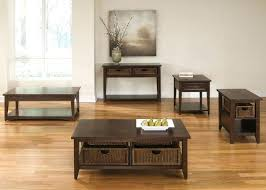 coffee table with baskets underneath coffee table w 2 basket drawers by liberty furniture wolf and