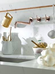 gold kitchen faucet. Luxury Faucet Finishes: Dornbracht Cyprum Kitchen | Revuu: Search For Excellence In Gold